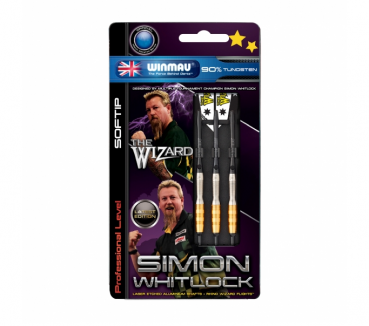 Winmau Simon Whitlock 2016 vergoldet Softdart