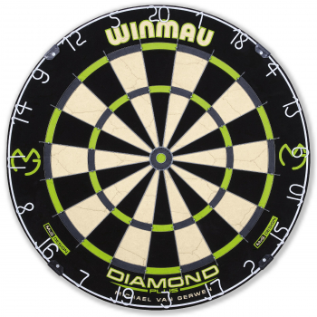 Dartboard WINMAU MvG Diamond Edition
