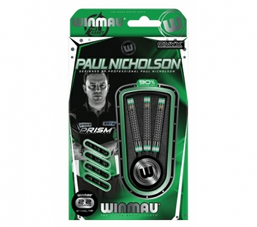 WINMAU Paul Nicholson Softdarts Hex-Grip Black 18g