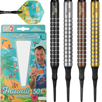 "Wayne Mardle ""Hawaii 501"" - Softdarts"