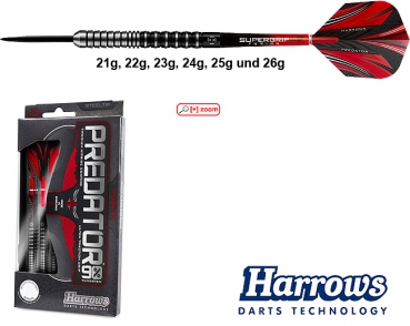 Harrows Predator 90% - Steeldarts