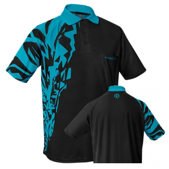 "HARROWS Rapide Shirts ""schwarz/aqua blau"""