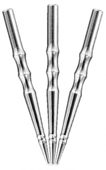 HARROWS Sabre Machined Silver Points