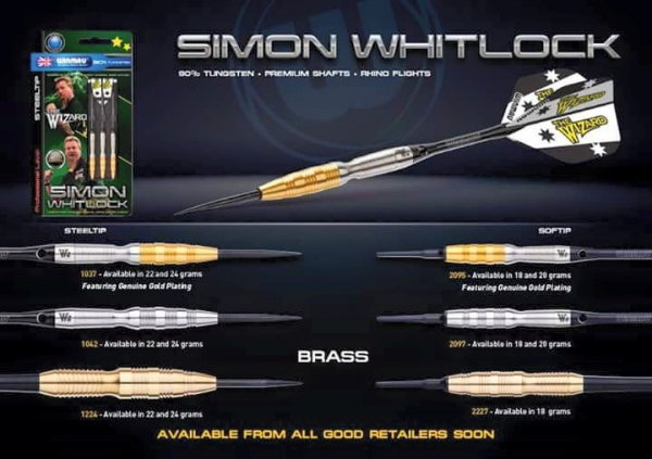 WINMAU Simon Whitlock 2016 Tungsten