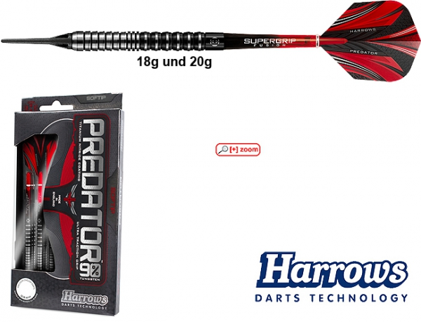 Harrows Predator 90% - Softdarts