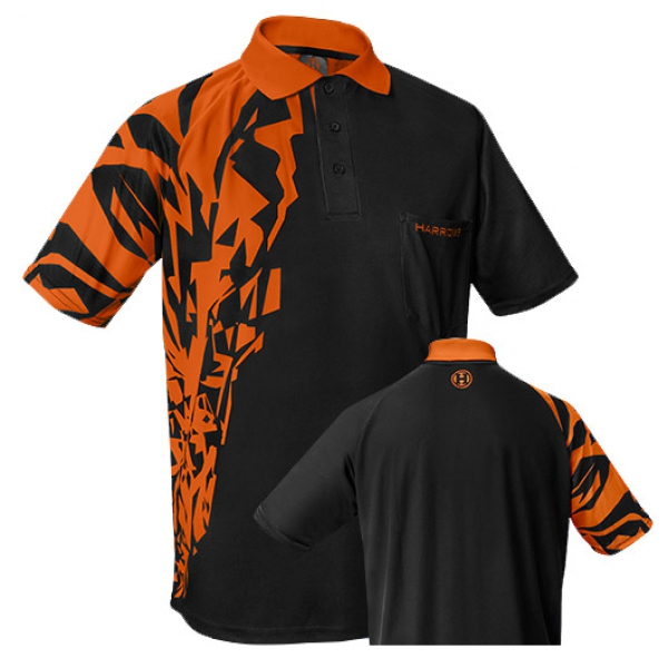 "HARROWS Rapide Shirts ""schwarz/orange"""