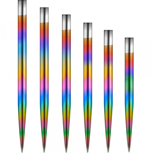 Mission Glide Dart Points Rainbow