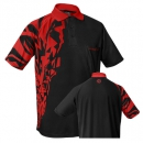 "HARROWS Rapide Shirts ""schwarz/rot"""
